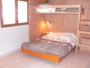Andagne 2 - Chambre double avec lit savoyard