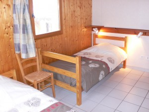 Andagne 2 - Chambre lits simples